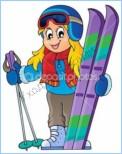 История лыж, мазей для лыж и лыжных покрытий
