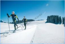 Удаление мази с лыж