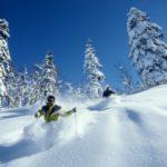 Японские лыжники