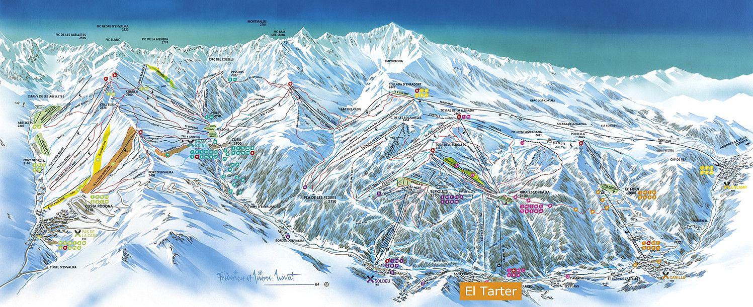 Сольдеу ЭльТартер Андорра лучший горнолыжный курорт