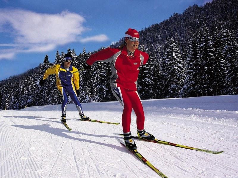 Лыжный коньковый ход: принципы скольжения