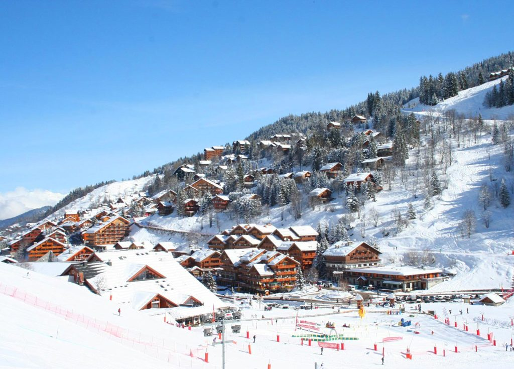 Французский горнолыжный курорт Менюир