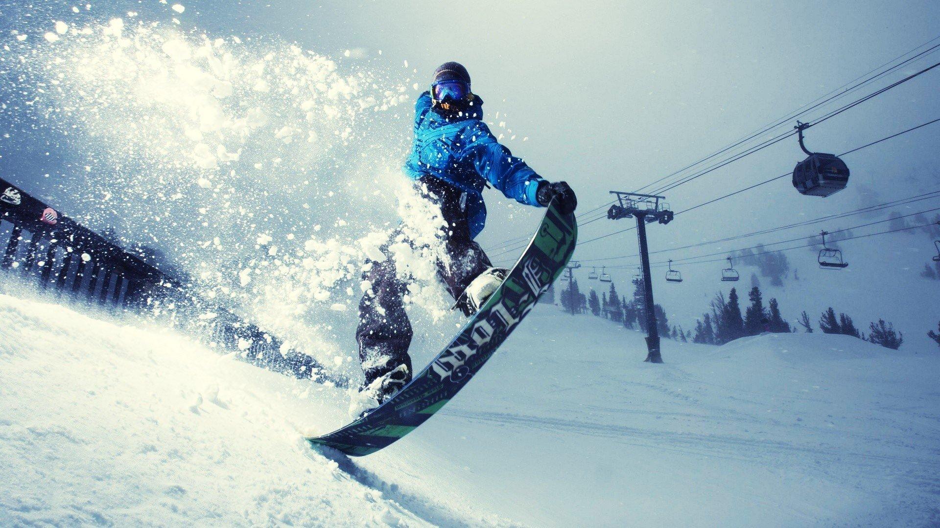 Катание на сноуборде во Франции