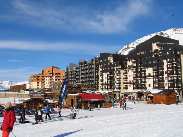 Лыжные курорты Франции