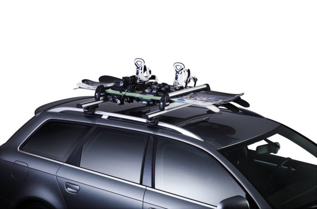 Крепления для лыж на крышу автомобиля