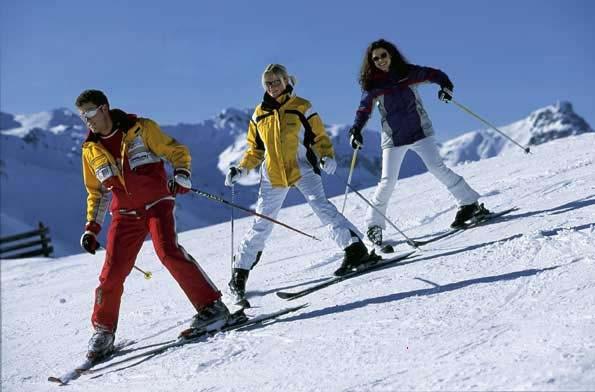 Горные лыжи для новичков
