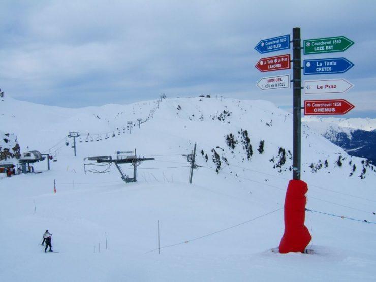 В Куршевеле открылись трассы для лыжников с ограниченными возможностями
