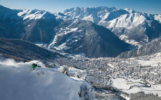 Достопримечательности горнолыжных курортов Франции