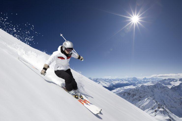 История горных лыж