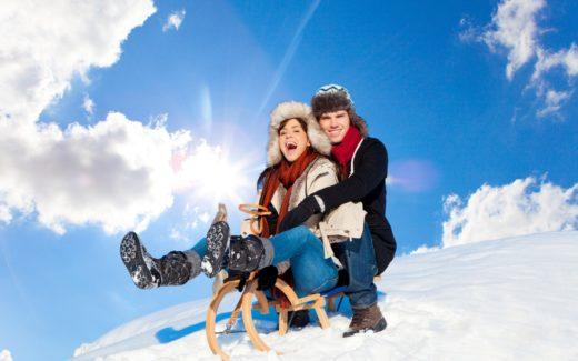Лучшие санные трассы на горнолыжных курортах Франции