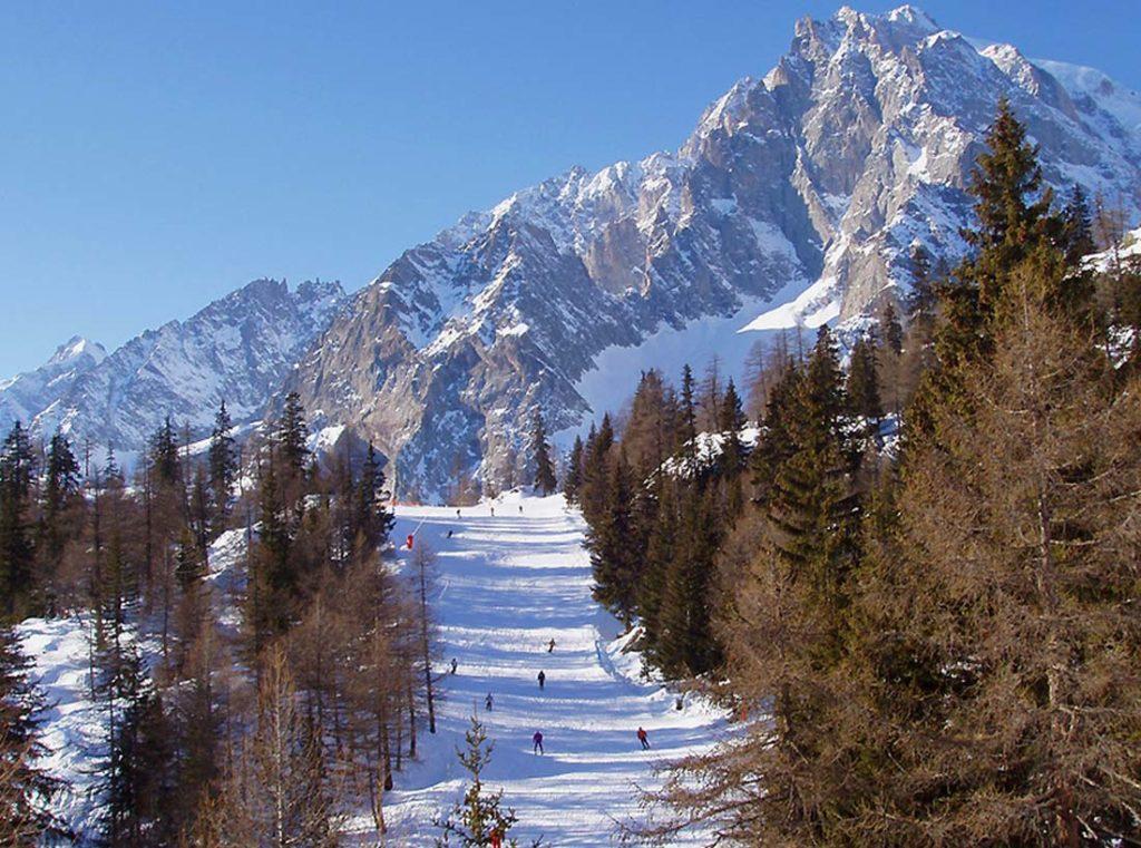 Немного информации об альпийских горнолыжных курортах